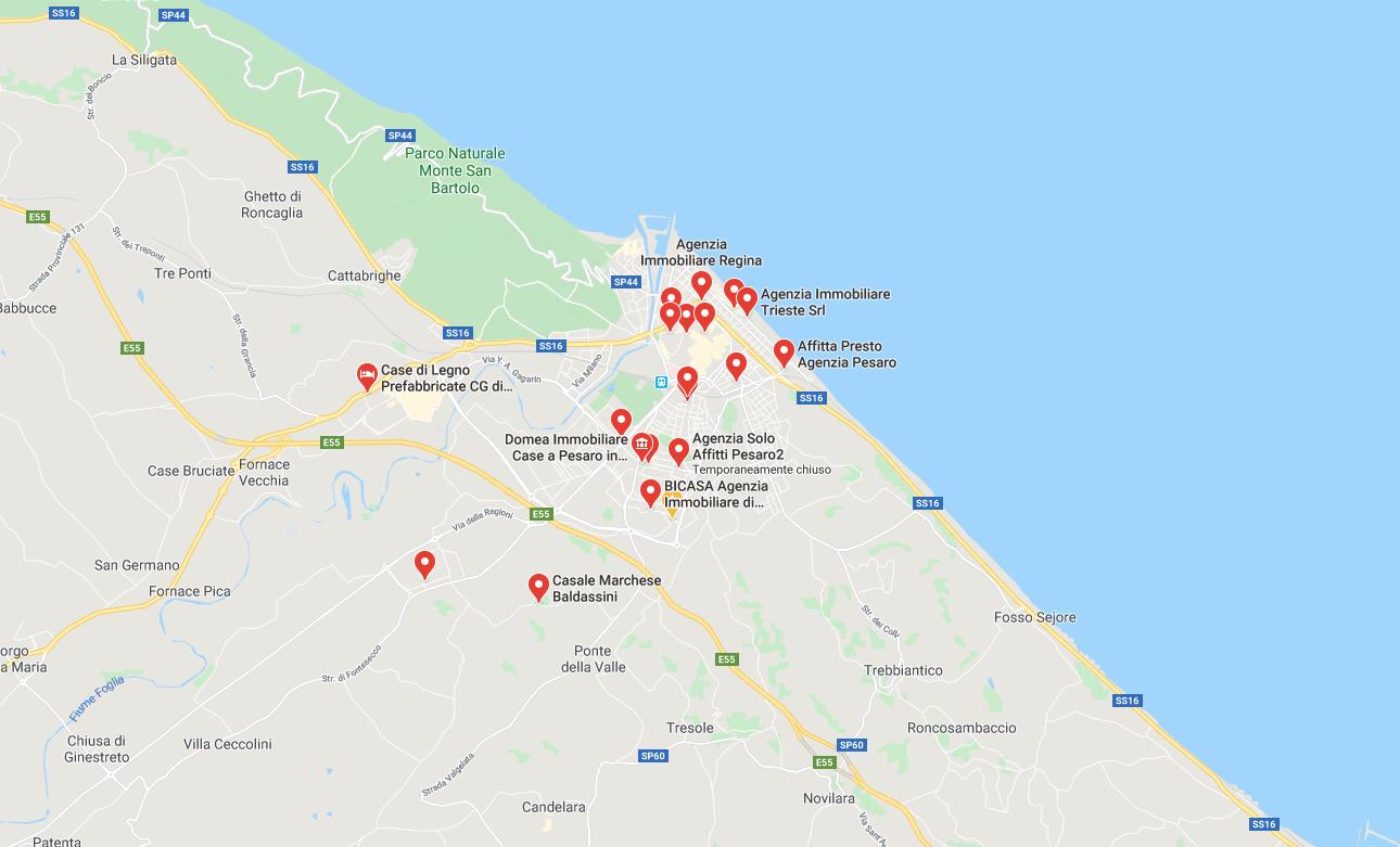 Case in affitto a Pesaro, immobili e appartamenti da affittare
