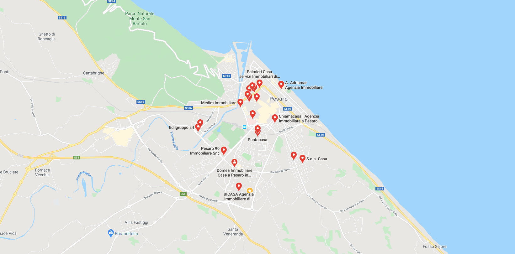 Case in vendita a Pesaro, siti annunci immobiliari